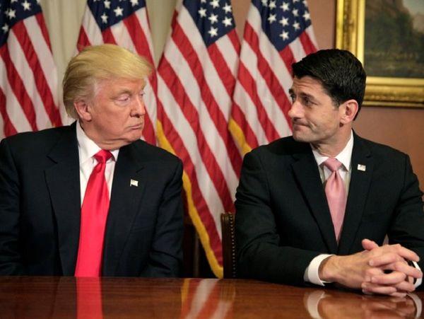 ترامپ:رایان به جای اظهار نظر بر حفظ اکثریت در مجلس تمرکز کند