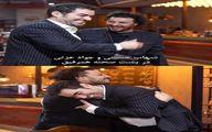 صمیمیت شهاب حسینی و جواد عزتی در پشت صحنه همرفیق + عکس