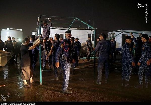 همکاری ارتش عراق بعد از طوفان با مواکب ایرانی