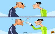 کاریکاتور:دروازهبان: تعویض نمیشم!