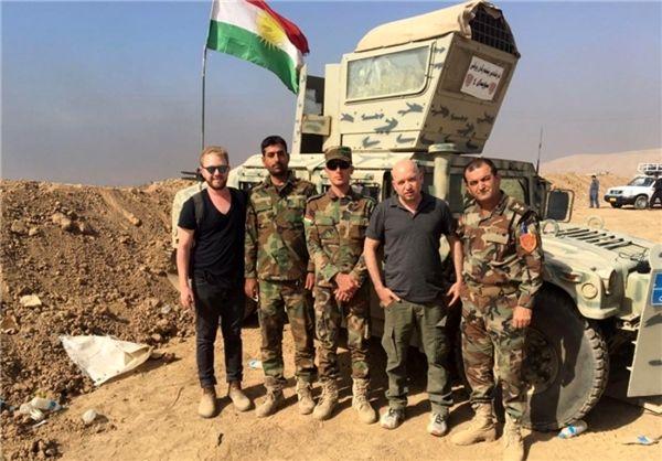 حضور خبرنگاران اسرائیلی در عملیات «موصل»+ عکس