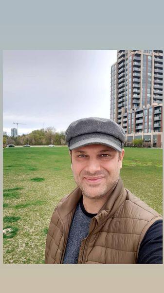 جدیدترین عکس شهروز ابراهیمی در کانادا