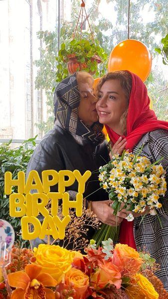 تولد پر از گل شبنم قلی خانی + عکس