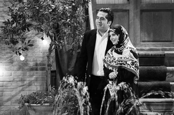 عکس تازه عروس دامادی از صبا راد و همسرش