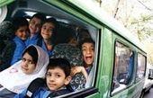 تصادف سرویس دانشآموزان در جنوب تهران