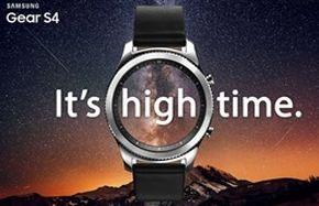 ساعت هوشمند سامسونگ گییر اس ۴  رونمایی میشود