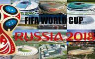 جزئیات آمار بازی روسیه و مصر