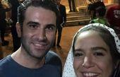 دختر آتیلا پسیانی و هوتن شکیبا در تماشاخانه ایرانشهر+عکس