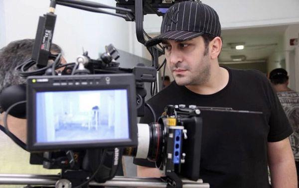 وحید شیخ زاده جلوی دوربین + عکس