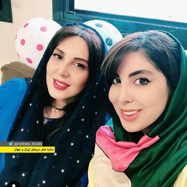 شباهت جالب لیلا بلوکات و خواهرش+عکس