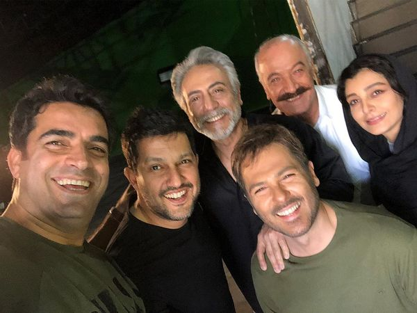 تازه ترین عکس حامد بهداد با بازیگران