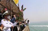 گلباران محل شهادت ۲۹۰ مسافر ایرباس+ عکس