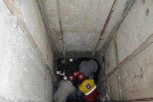 مرگ 2 کارگر در چاه 30متری