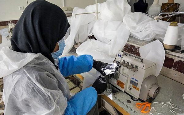 7 کارگاه تولید ماسک با هماهنگی معاونت غذا و دارو راه اندازی شد