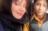 شراره رخام و خواهرزاده اتوکشیده اش+عکس