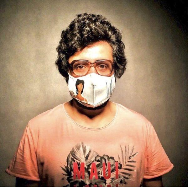 تی شرت متفاوت مهران رنجبر + عکس