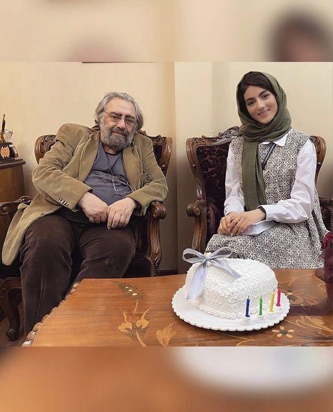 پردیس پورعابدینی در کنار کارگردان مشهور ایران + عکس
