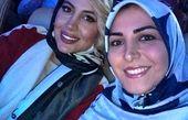 شباهت بامزه خانم گوینده خبر به همسر بابک جهانبخش+عکس