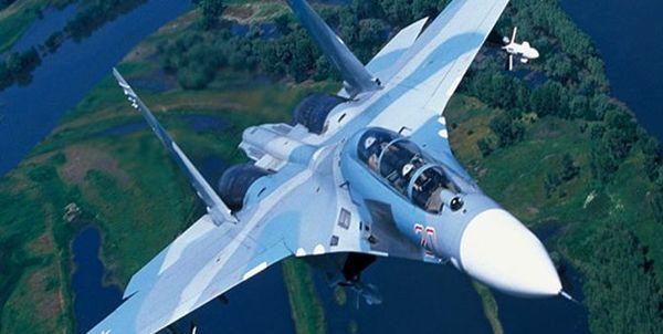 «سوخو-27 روسیه» 4 هواپیمای نظامی انگلیس را رهگیری کرد