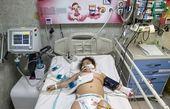 تصاویری دلخراش و دردناک از کودکان کرونایی