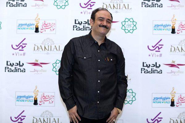 لبخند ملیح مهران غفوریان در جشن حافظ+عکس