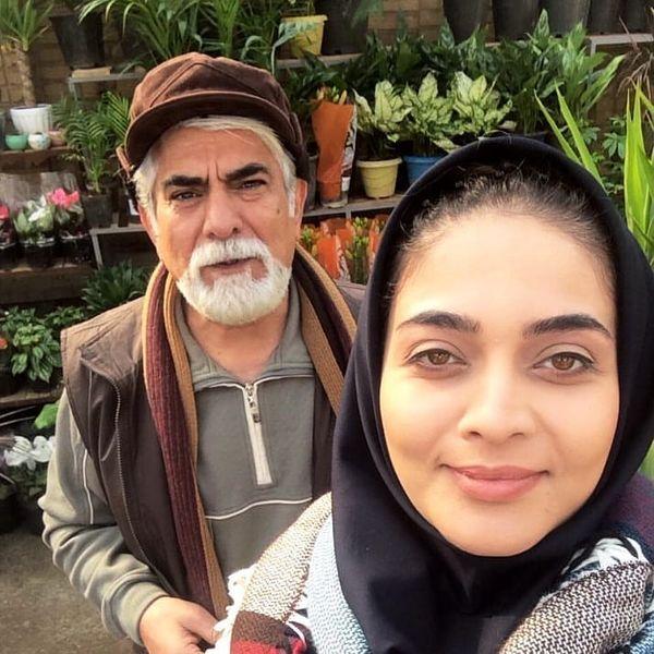 پدر و دختر مانکن تلویزیون+عکس