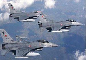 حملات هوایی ترکیه به قندیل عراق