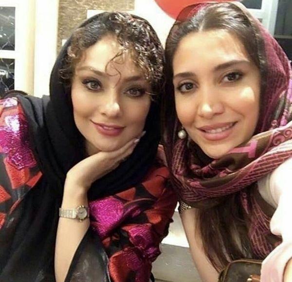 عکس دونفره یکتا ناصر و دختر بازیگر معروف
