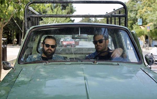 هومن سیدی و محمدرضا گلزار در گیسو + عکس