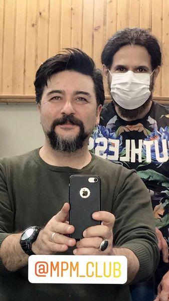 مدل موی جدید امیرحسین صدیق + عکس
