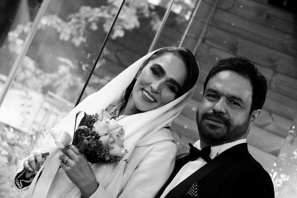 عکس عروسی بازیگر روزگار جوانی