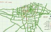 وضعیت ترافیکی تهران در اولین روز بازگشایی پاساژها