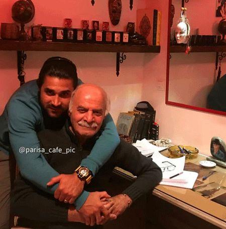سلفی دیدنی سیروس گرجستانی و پسرش+عکس