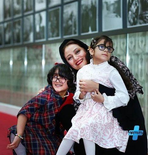 عکس شبنم مقدمی و دو فرشته ی زیبا