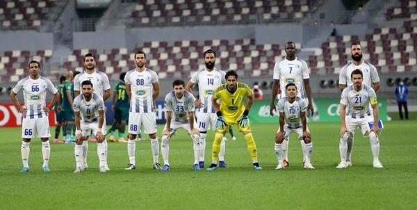 ترکیب استقلال برای بازی با الاهلی عربستان اعلام شد