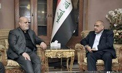 سفیر ایران در بغداد با «عبدالمهدی» دیدار و گفتوگو کرد