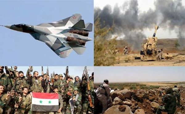 """درگیری شدید ارتش سوریه و تروریستها در """"جنوب حلب"""""""