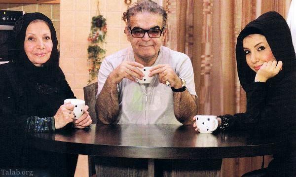 حمید لولایی در کنار همسر و دخترش+عکس
