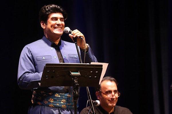 آهنگ کردی در سالن میلاد نمایشگاه تهران
