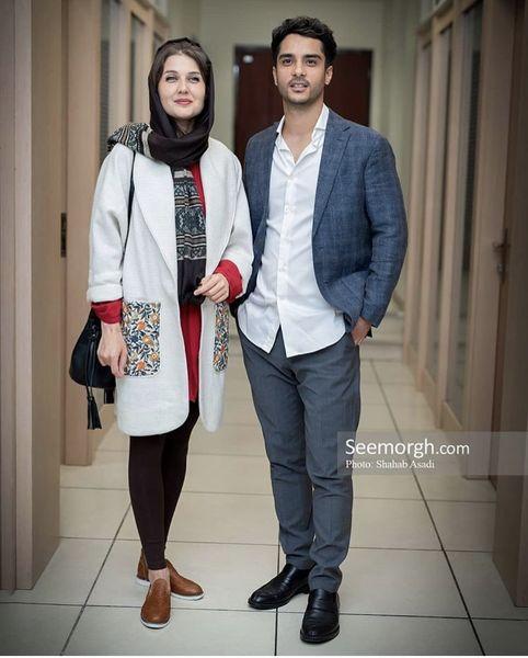 ساعد سهیلی و همسر آلمانی اش + عکس