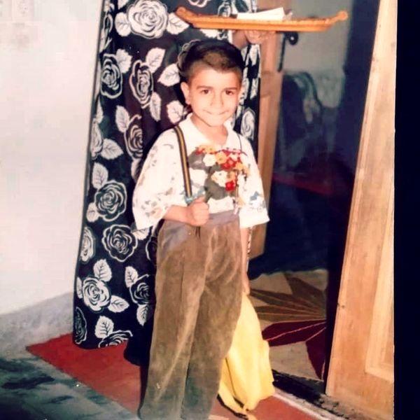جواد خواجوی در کودکی + عکس