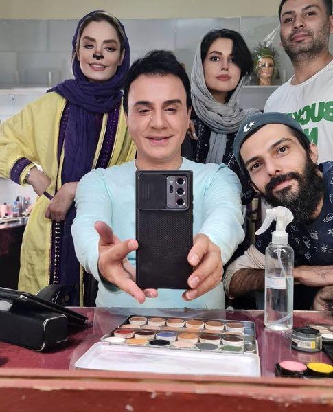 سپیده خداوردی همکار عموپورنگ شد + عکس