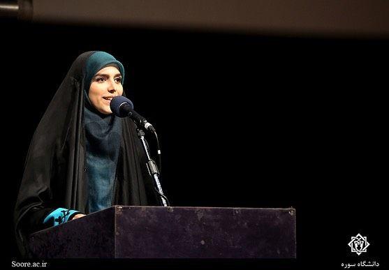 مژده لواسانی در افتتاحیه سال تحصیلی+عکس