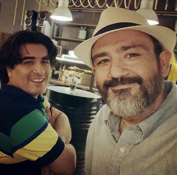 مهران غفوریان در کنار پیانسیت مشهور + عکس