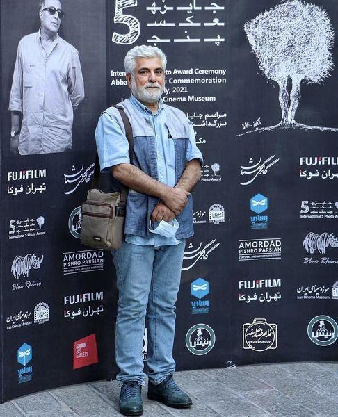 حسین پاکدل در یک مراسم + عکس