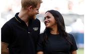 شاهزاده هری و همسرش با لباس ورزشی
