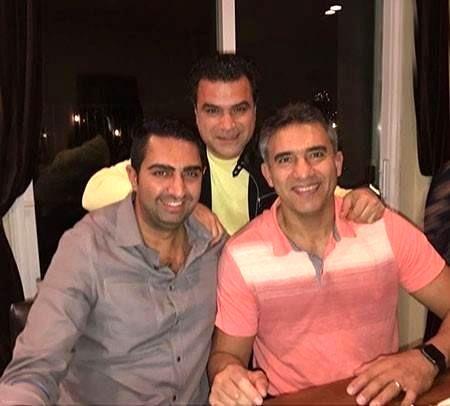 احمدرضا عابدزاده و خانواده در آمریکا+عکس