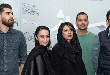 عکس های جدید هنرمندان در اکران فیلم درساژ