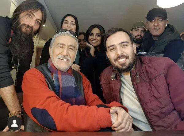 رضا توکلی و دوستانش + عکس