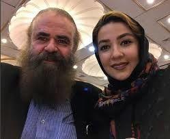 خانم بازیگر همراه همسرش در جشنواره فجر